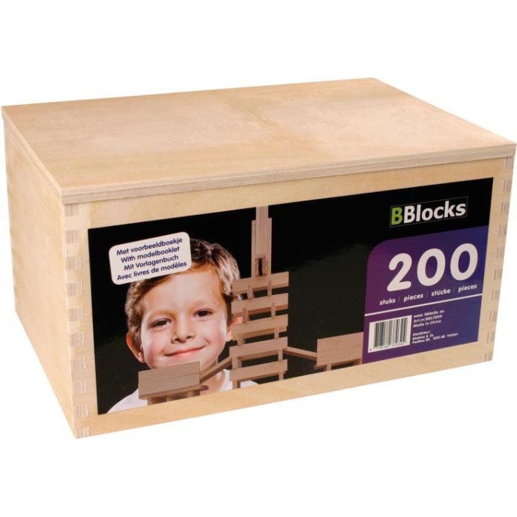 Image of BBlocks 200-delig in Kist