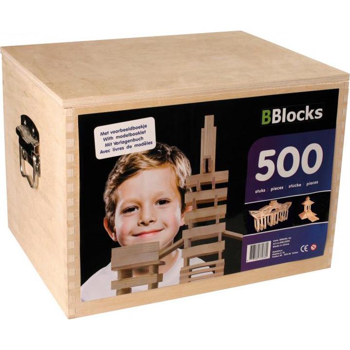 Image of 500 Latjes In Houten Kist