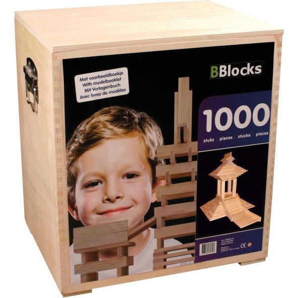 Image of Bblocks: 1000 stuks in kist