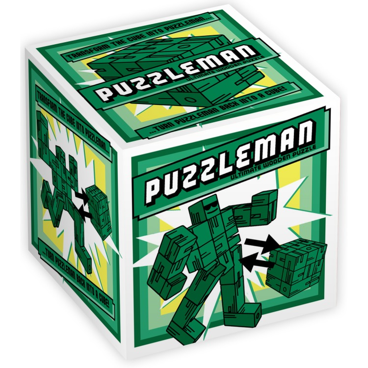 Puzzleman Green
