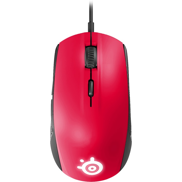 Rival 100 Forged Red - Optical Gaming Mouse