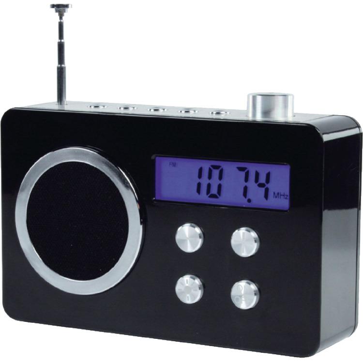 Image of Basicxl Bxl-tr250 bl Draagbare Fm Radio Zwart