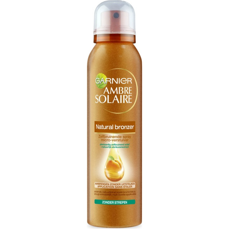 Image of Ambre Solaire Natural Bronzer Zelfbruinende Spray, 150 Ml