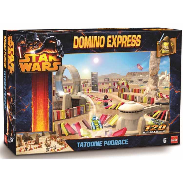 Domino Express Star Wars Tatooine Podrace '15