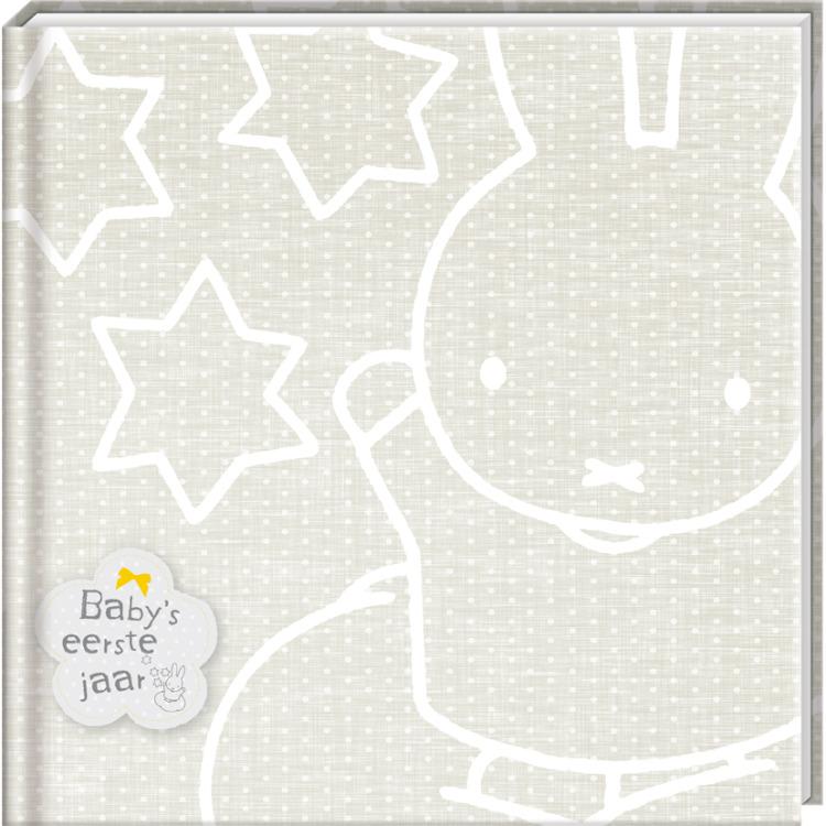 Nijntje Baby's eerste jaarboek zilver-1x12,95
