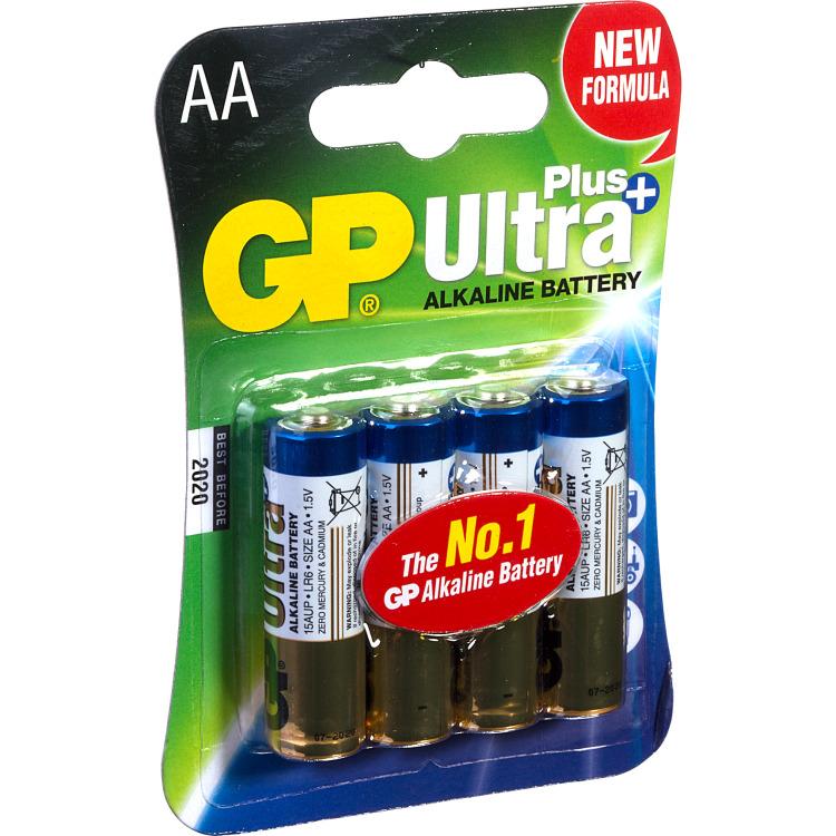 Gp Bat.ult.pl.alk.aa Penlite^ 4stuks