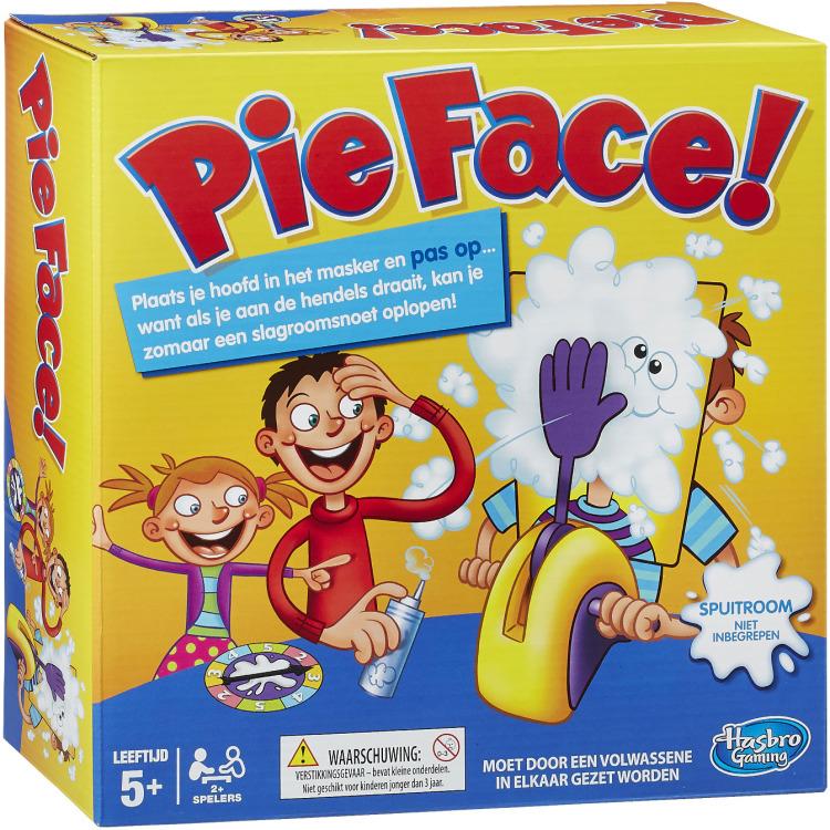Pie Face Gezelschapsspel voor €26,99