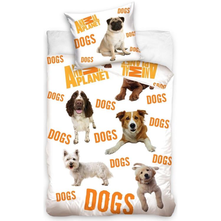 Image of Animal Planet dogs dekbedovertrek 140x200 cm
