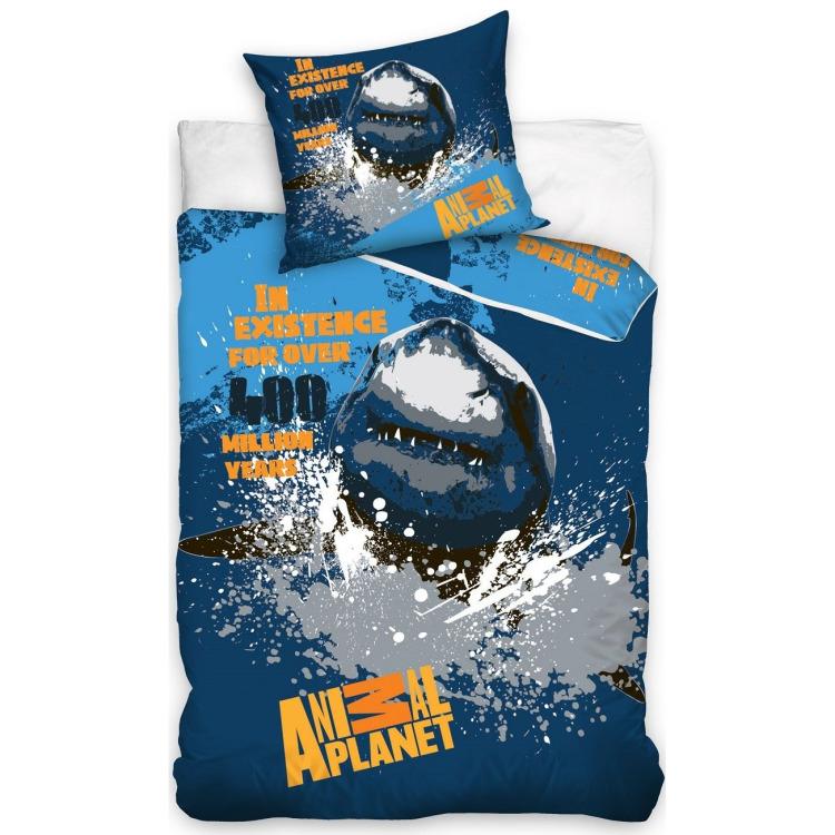 Image of Animal Planet haai dekbedovertrek 140x200 cm