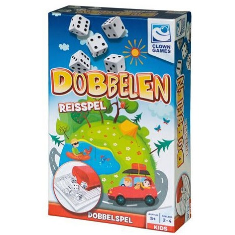 Image of Clown Dobbelen - Reisspel