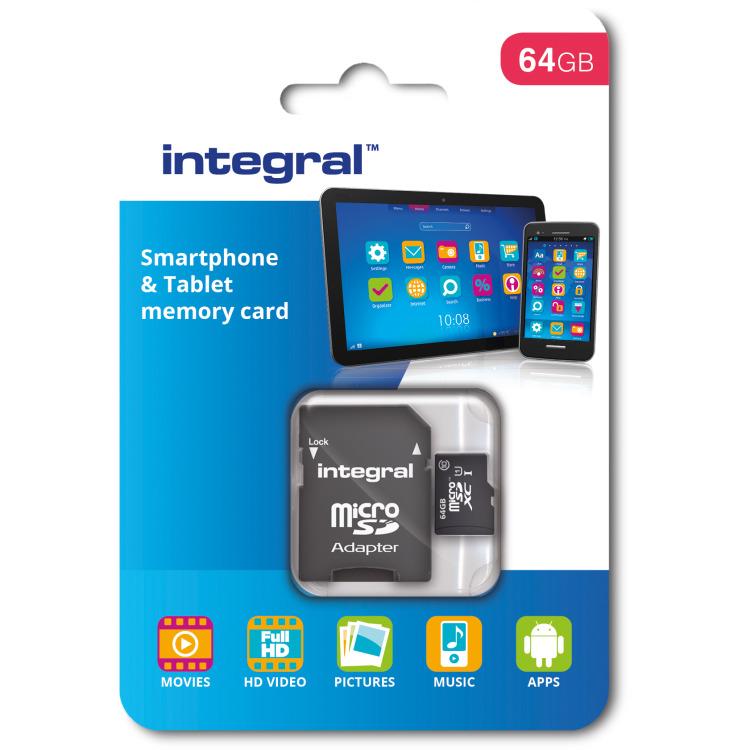 Sdxc-micro Smartph-tablet 64gb