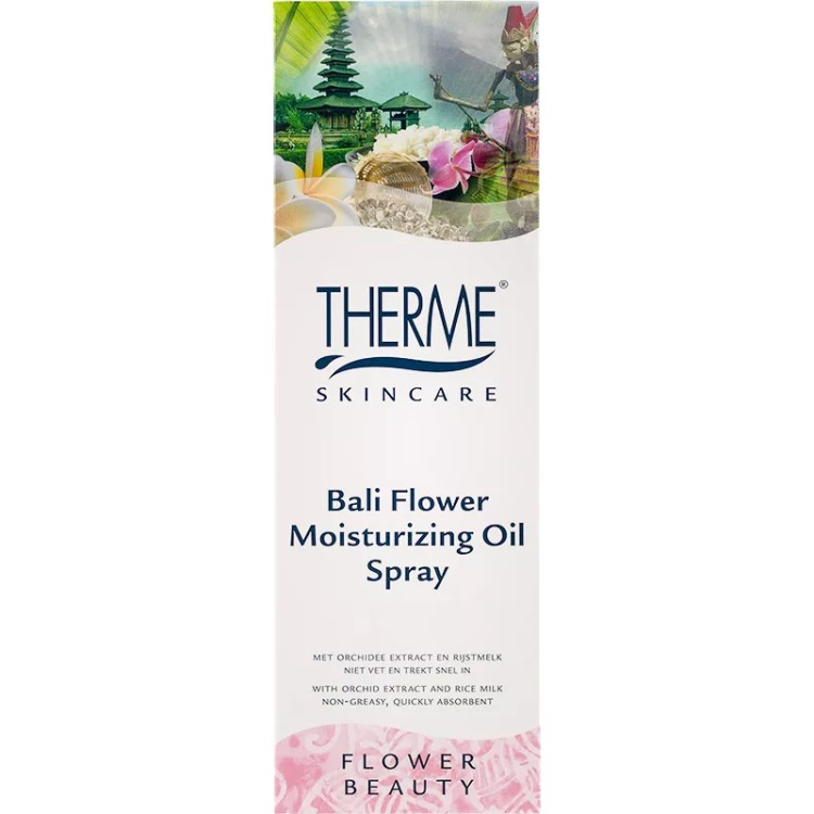 Image of Bali Flower Moisturizing Oil Spray, 125 Ml
