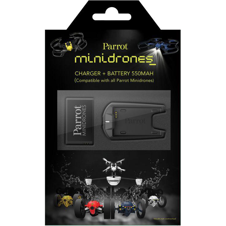 MiniDrones - Batterijoplader + Batterij