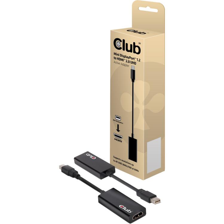 CLUB3D C3D MiniDisplayPort > HDMI2.0 Act 4K60Hz (CAC-1170)