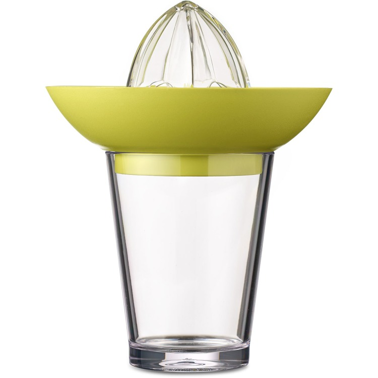 Image of Citruspers Met Flow Glas 200 Ml - Lime (lichtgroen)