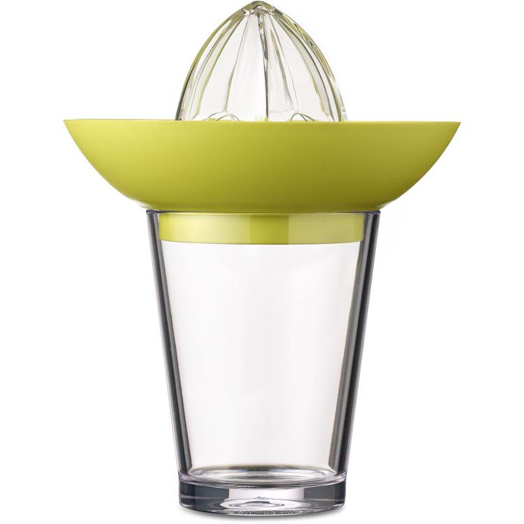 Image of Citruspers Met Flow Glas 200 Ml - Lime (lichtgroen)