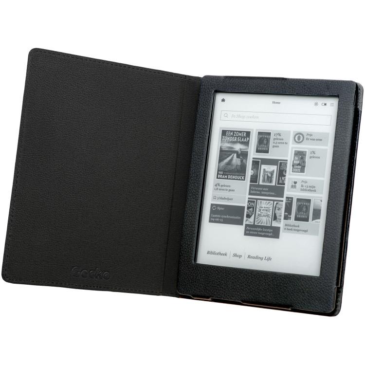 Gecko Gecko Luxe Beschermhoes voor Kobo Touch 2.0 (Zwart) (V4T46C1)