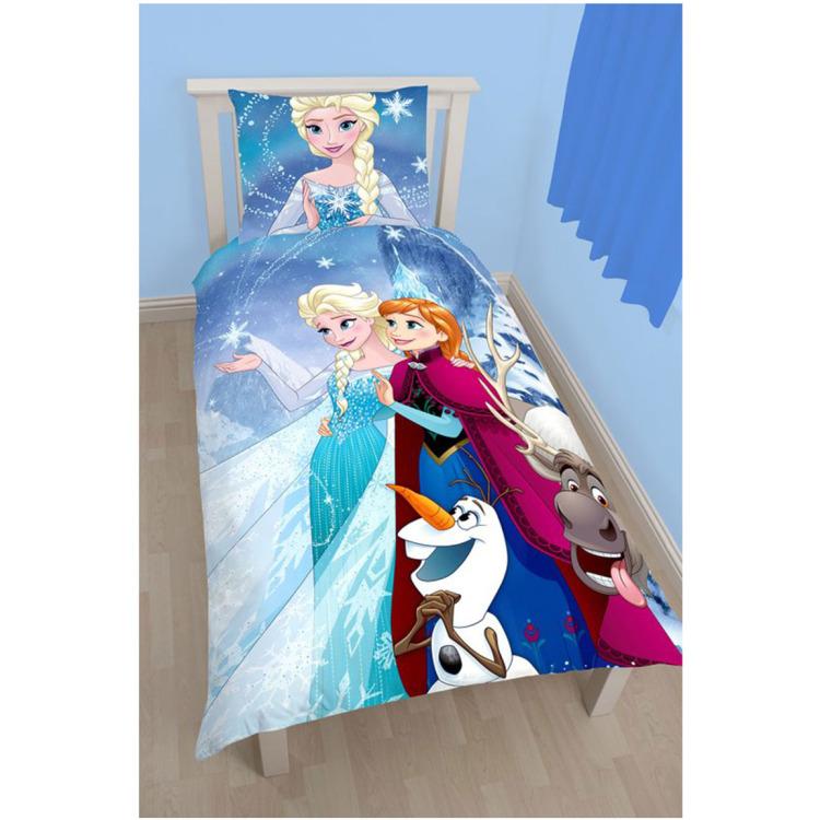 Image of Dekbedovertrek Disney Frozen 140x200cm