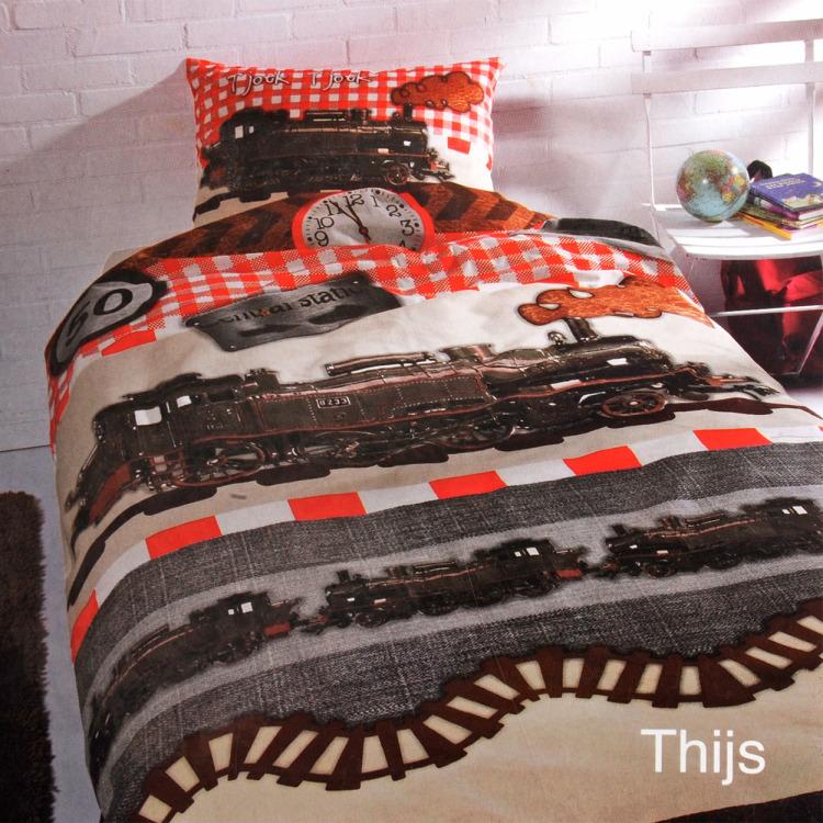 Day Dream Thijs dekbedovertrek - Multi - eenpersoons (140x200 cm + 1 sloop)