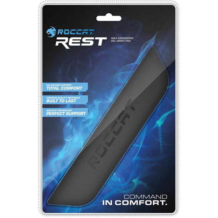 Rest - Max Ergonomic gel wristpad
