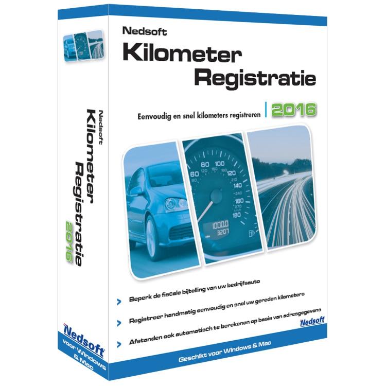 Nedsoft Nedsoft KilometerRegistratie 2016 (20144)