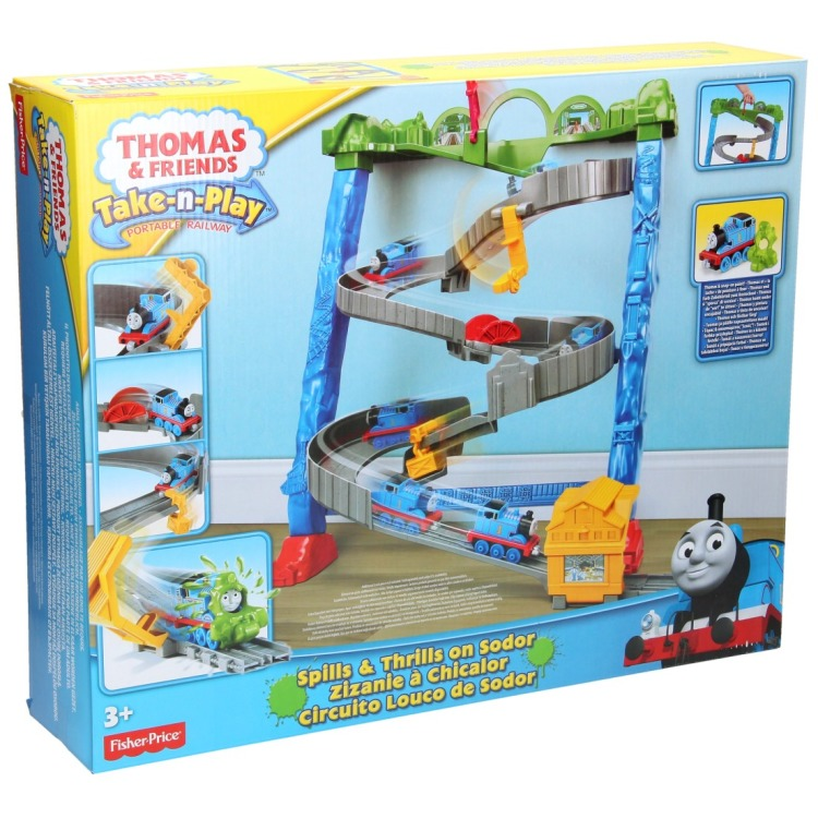 Fisher-Price Thomas de trein Spills & Thrills on Sodor