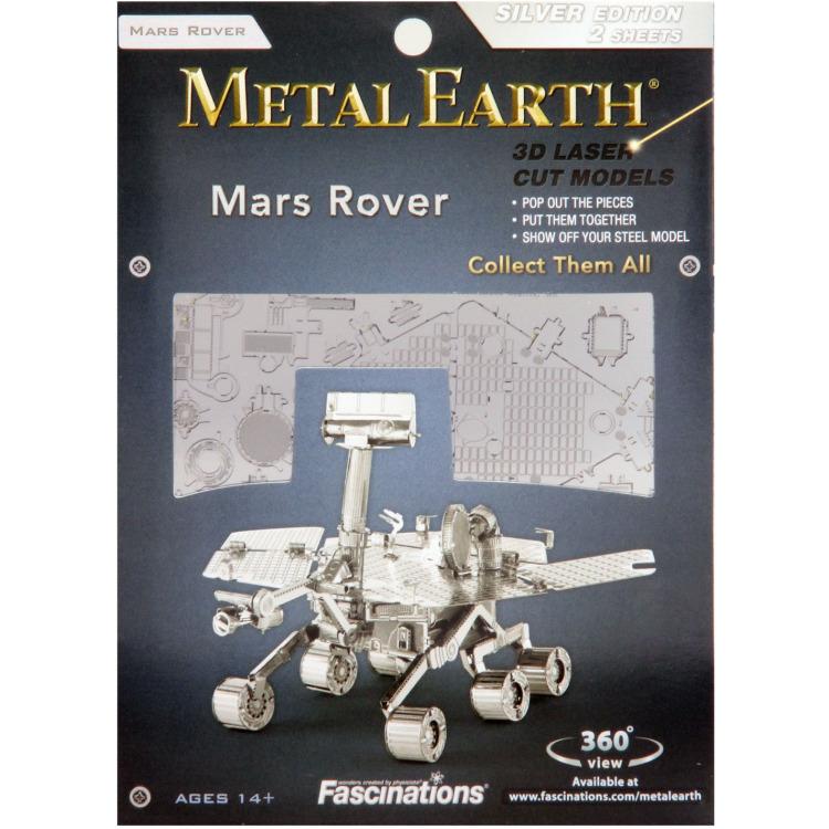 Mars Rover - 3D Puzzel