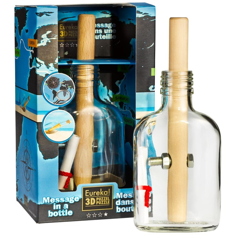 Image of Bottle Puzzles Message In A Bottle