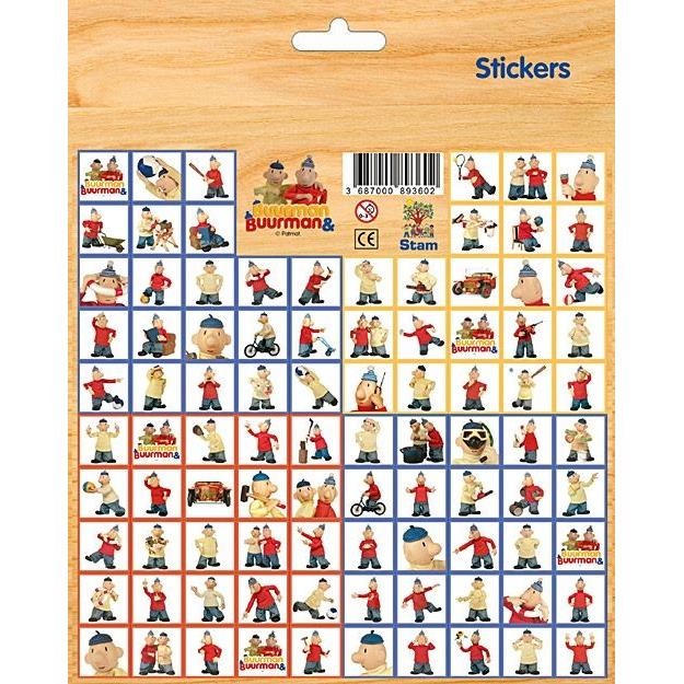 Image of Buur Stickervel Buurman En Buurman