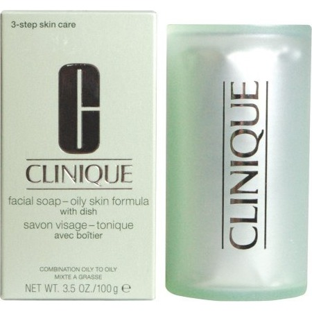 Clinique Facial Soap with Dish Oily Skin Formula