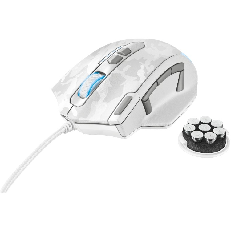 Gaming Mouse White Cam. Gxt-155w
