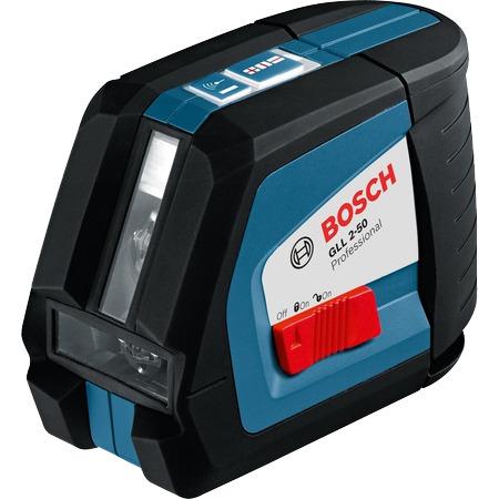 Kruislijnlaser GLL 2-50 P + universele houder BM 1 P + laserontvanger LR 2 P Bosch 0601063107