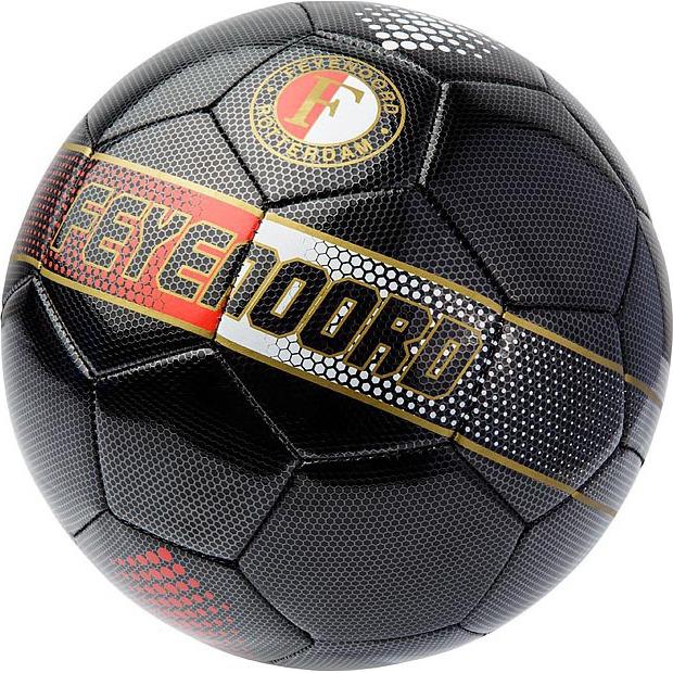 Image of Bal Feyenoord Leer Groot Zwart