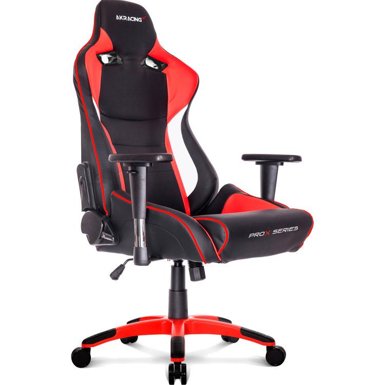 Image of AK Racing Gaming Stoel ProX (zwart-rood)