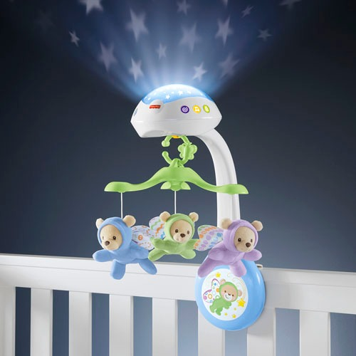Fisher-Price 3 in 1 projector-muziek mobiel