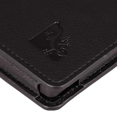 Gecko Covers Luxe Case Kobo Aura H2O Zwart