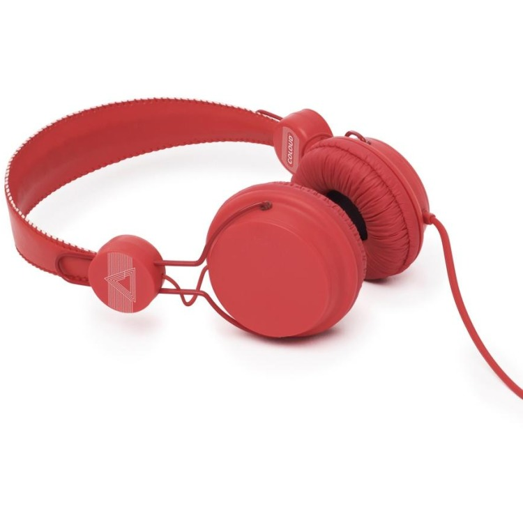 Image of Coloud, Colors Headphone With Microphone (Red)