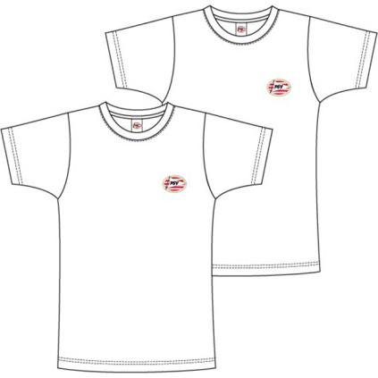 PSV shirts Basic wit maat 116