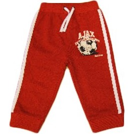 Image of Baby Pant Little Soccer Fan Rood, Maat 62/68