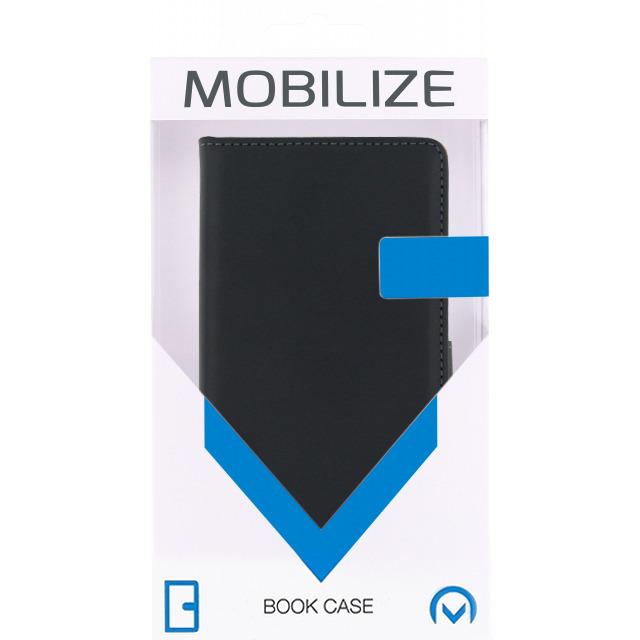 Mobilize Classic Wallet Book Case LG Leon Zwart