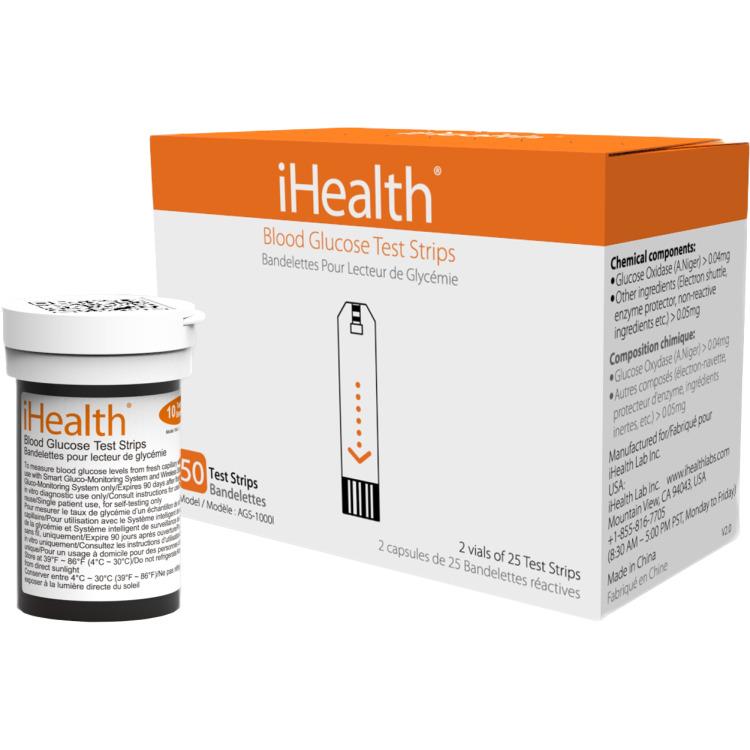 iHealth 50 Glucose Teststrips