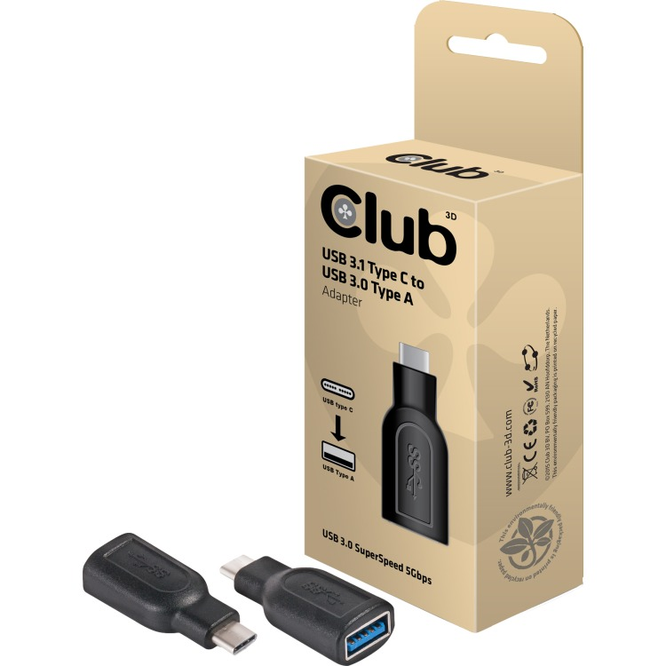 CLUB3D Club3D Adapter USB 3.1 Type C > USB 3.0 Type A retail (CAA-1521)