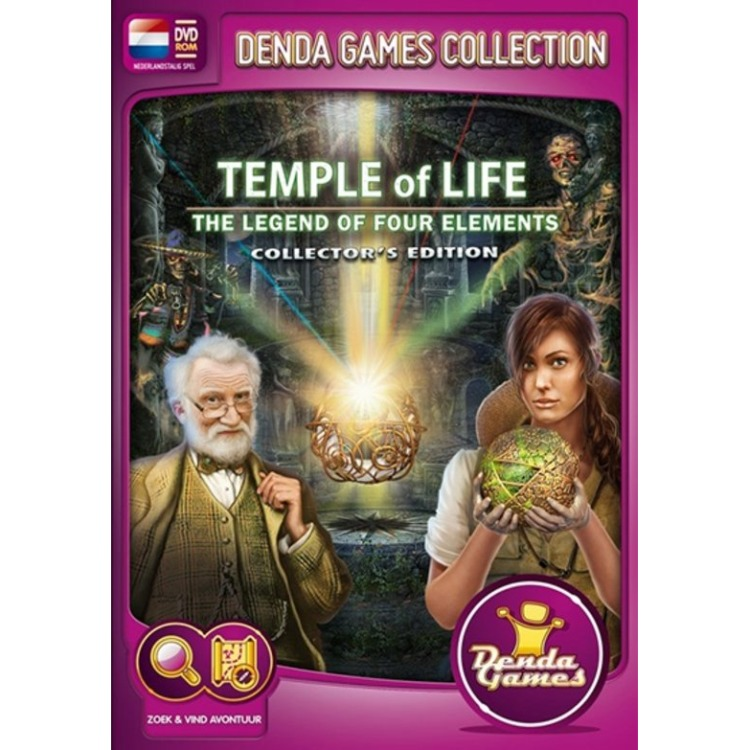 Image of Temple Of Life, Legends Of The Four Elements (Collector's Edition)