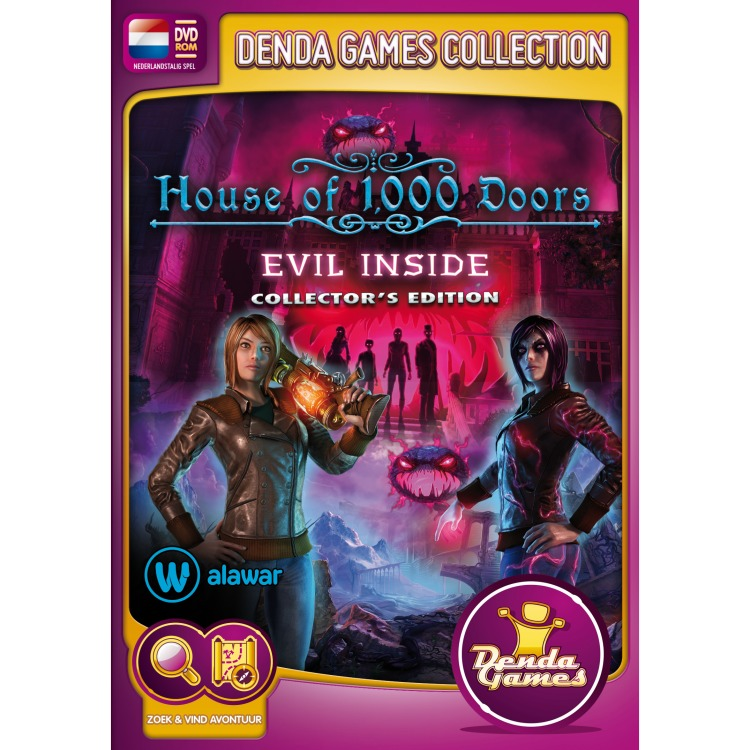 Image of House Of 1000 Doors, Evil Inside (Collector's Edition)