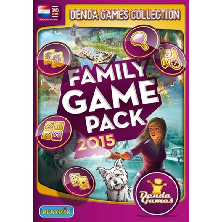 Image of Family Game Pack 2015