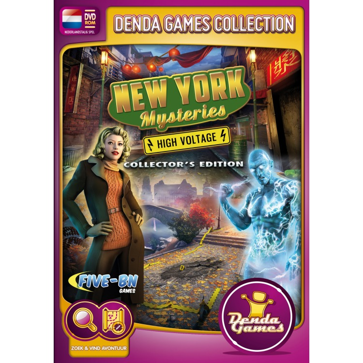 Image of New York Mysteries, High Voltage (Collector's Edition)