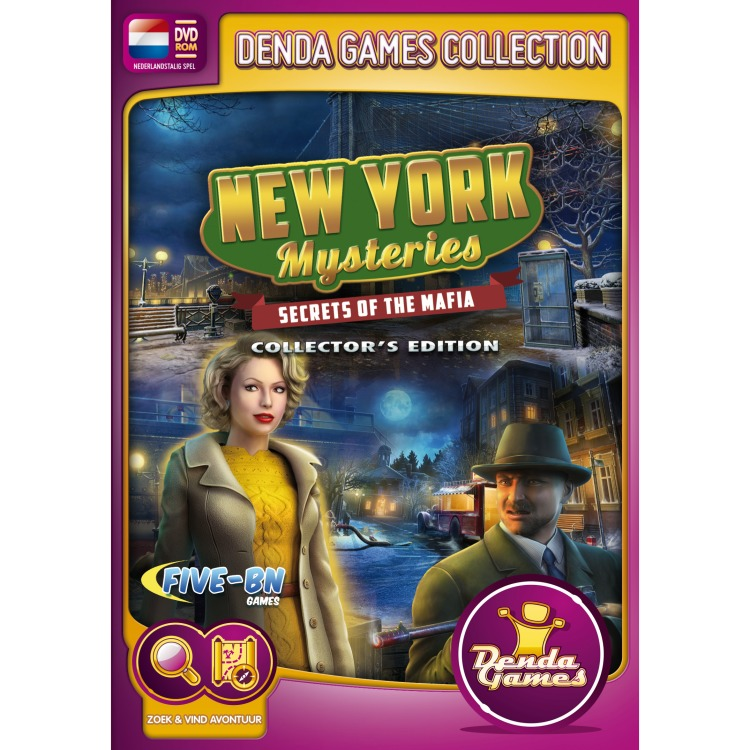 Image of New York Mysteries, Secrets Of The Mafia (Collector's Edition)