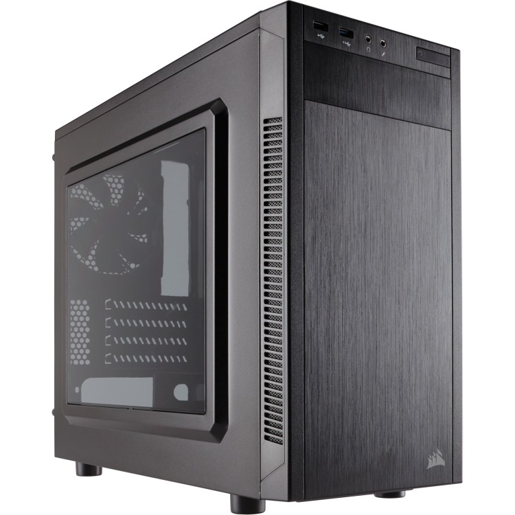 Corsair Case Midi Corsair Carbide 88R microATX, black, USB 3.0 (CC-9011086-WW)
