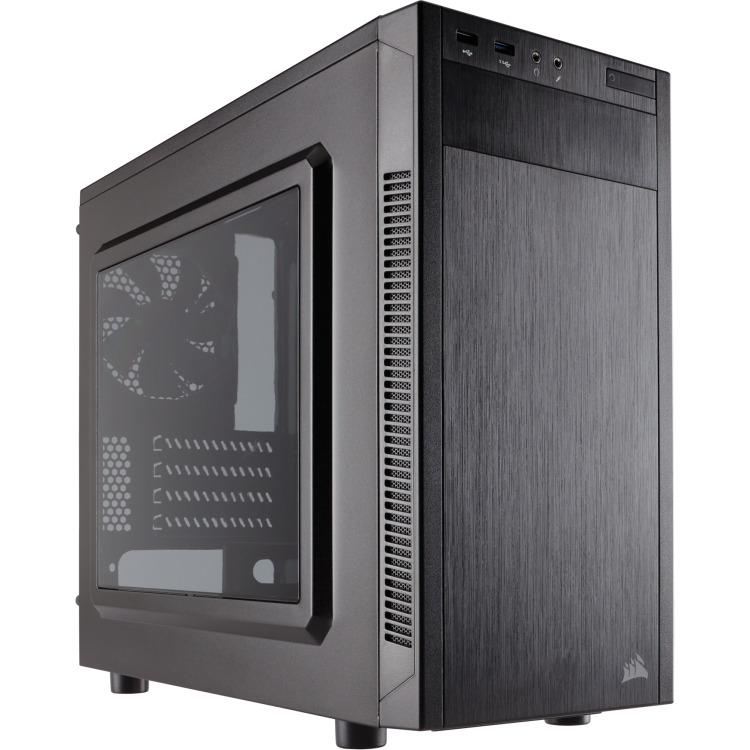 Corsair Case Midi Corsair Carbide 88R microATX, black, USB 3.0 (CC-9011086-WW)