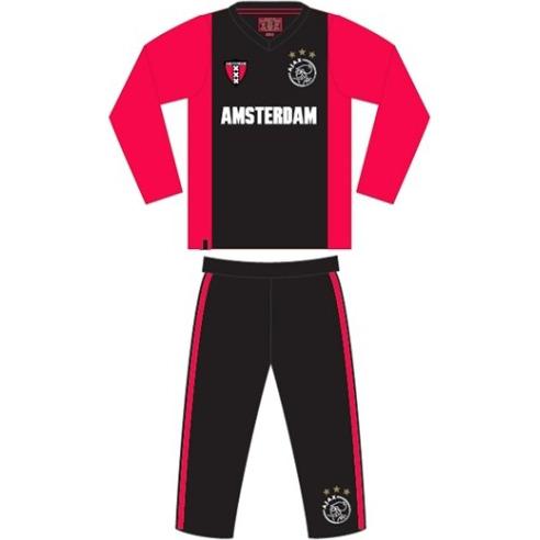 Pyjama Ajax Amsterdam zwart-rood xxx maat 104